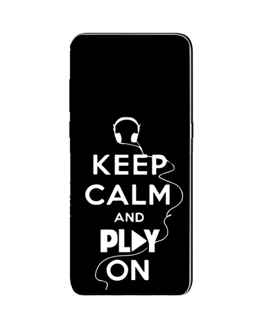 Keep Calm and Play On - Cover Collezione -