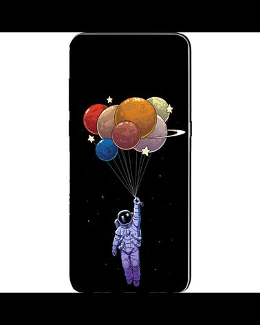 Astronauta con Pianeti - Cover Collezione -