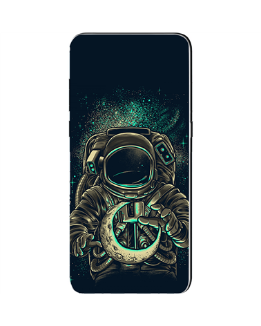 Astronauta con Luna - Cover Collezione -