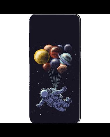 Astronauta con Paracadute Pianeti - Cover Collezione -