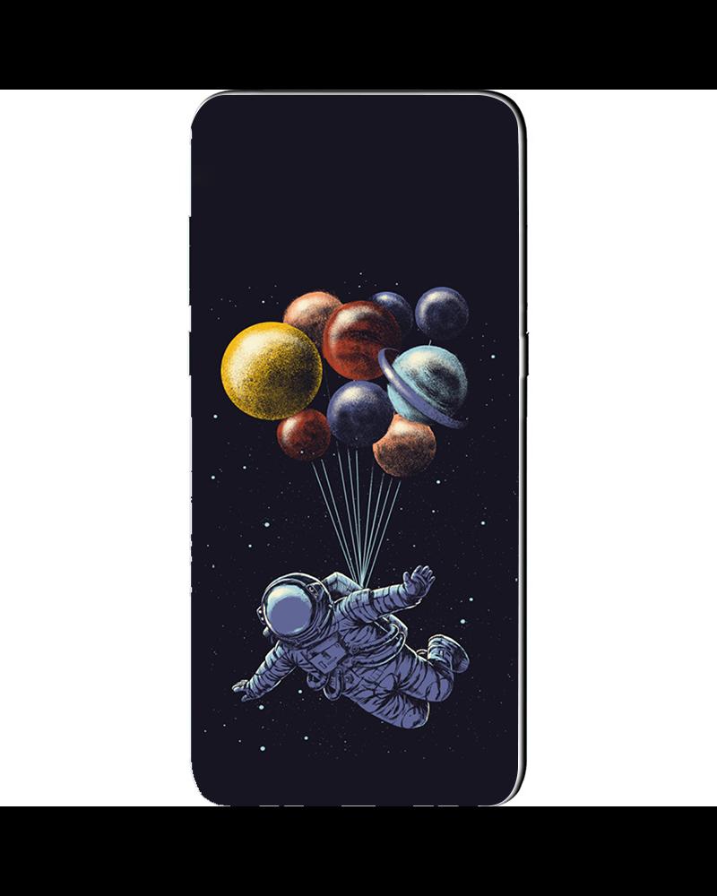 cover samsung j6 astronauta