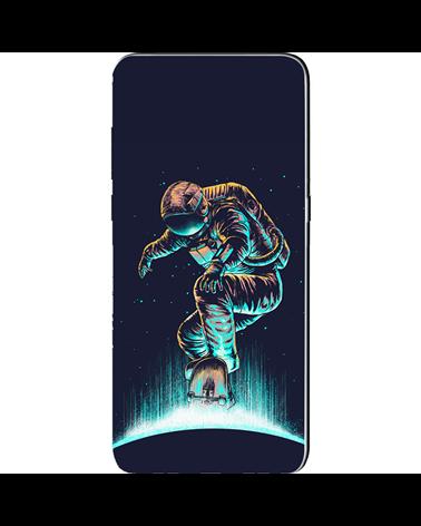 Astronauta con Skate - Cover Collezione -