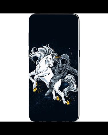 Astronauta con Unicorno - Cover Collezione -