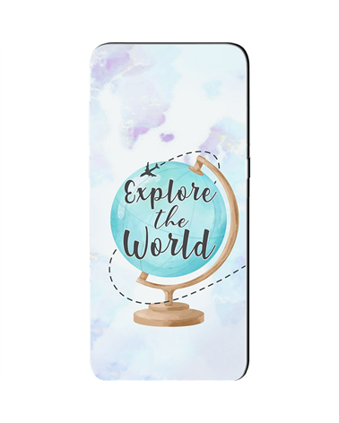 Explore World Globe - Cover Collezione -