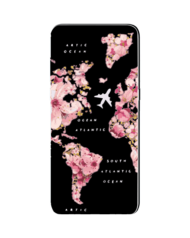 Flowers Map - Cover Collezione -