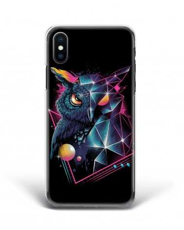 Synthwave Geometric Owl - Cover Collezione -
