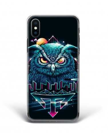 Synthwave Owl - Cover Collezione -