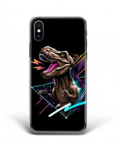 Synthwave T-Rex - Cover Collezione -