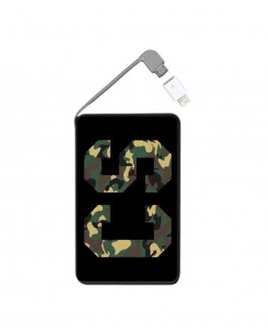 Iniziali Big Camouflage - Collezione Powerbank -