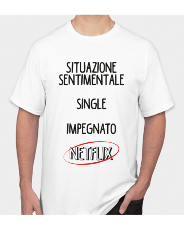 Fidanzato Netflix - Collezione T-Shirt -