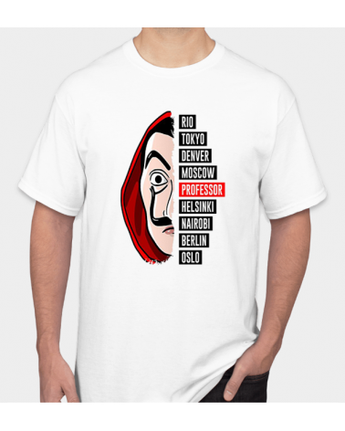 Professor Face - Collezione T-Shirt -