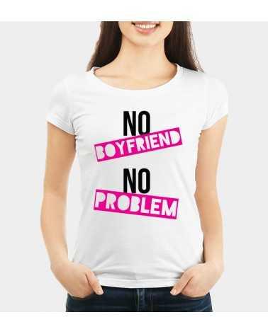no BoyFriend no Problem - Collezione T-Shirt -