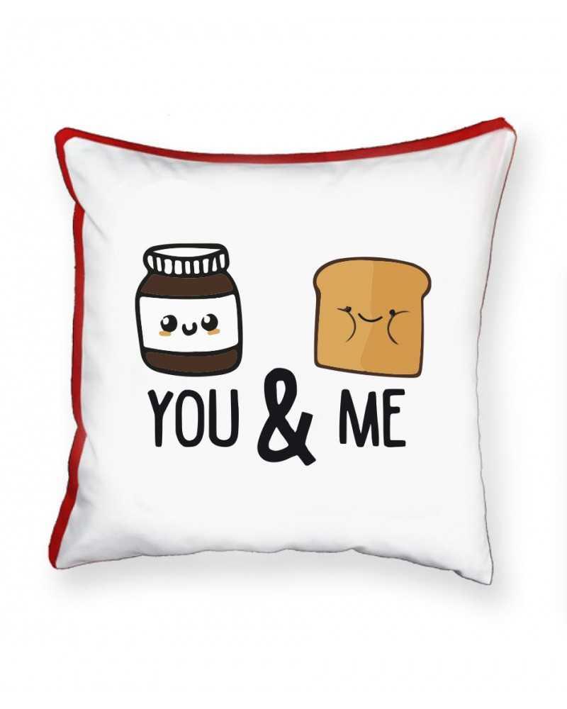 Nutella e Pane - Cuscino Personalizzato -