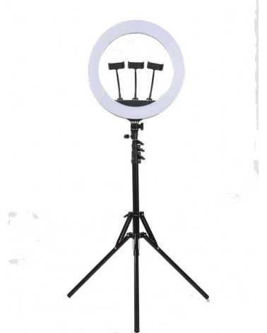 Soft Ring Light RL-18 - Selfie Stick Professionale -