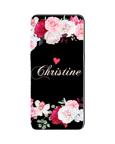 Romantic Flowers Name - Cover Collezione -