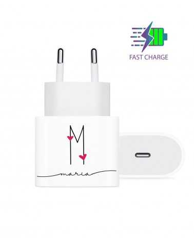 Iniziali Heart - Wall Charger -