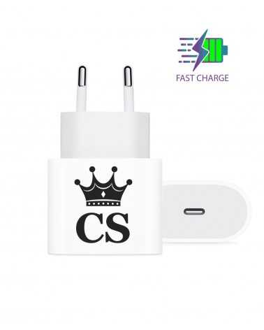 Iniziali Crown - Wall Charger -