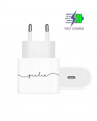 Simple Name - Wall Charger -