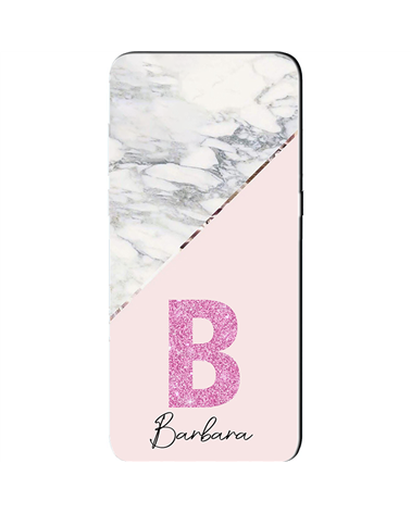 Marble Pink Name - Cover Collezione -