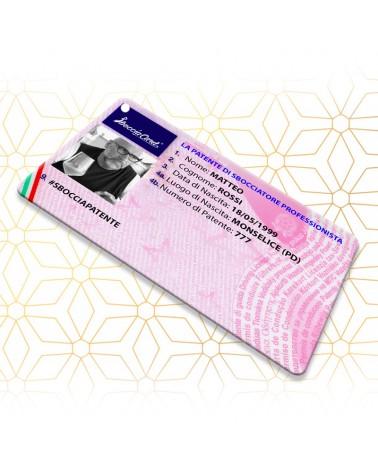 Sboccia Patente Classic - Sbocciacard -