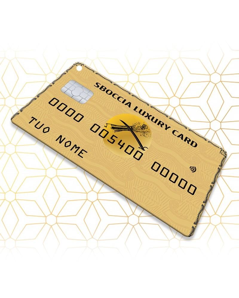Sboccia Credit Card Luxury Simple - Sbocciacard -