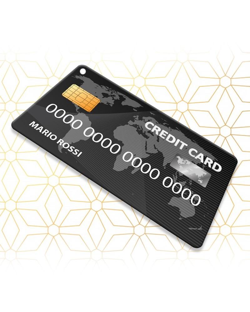 Sboccia Credit Card Black World- Sbocciacard -