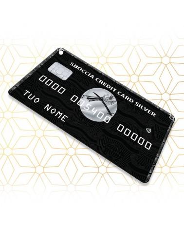 Sboccia Credit Card Silver - Sbocciacard -