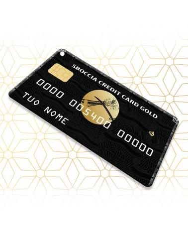 Sboccia Credit Card Gold - Sbocciacard -