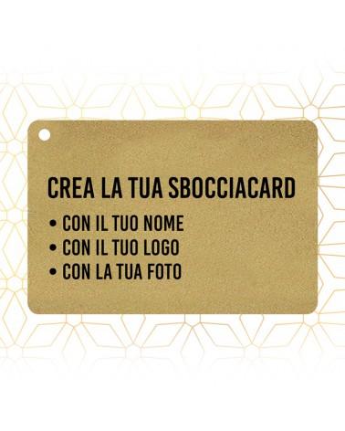 Sbocciacard Luxury Gold Personalizzata -