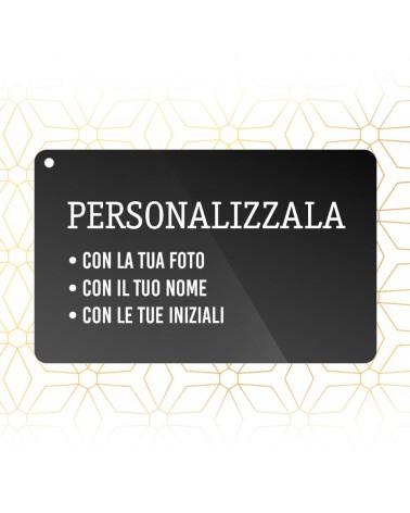 Sbocciacard Premium Black Personalizzata -