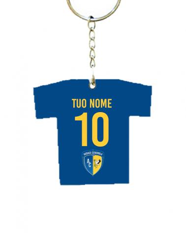 Cerignola Calcio Blu - Portachiavi Personalizzato -