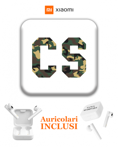Iniziali Mimetic Pods - Cover Pods Personalizzate -