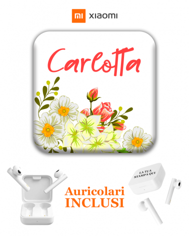 Margherita Flowers Pods - Cover Pods Personalizzate -