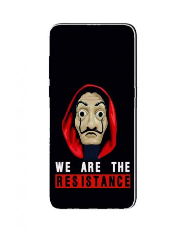 Resistance Mask - Cover Collezione -