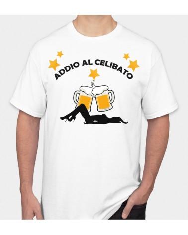 Addio Al Celibato Birra - Collezione T-Shirt -