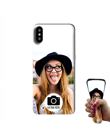 Apple iPhone X/XS - Cover Personalizzata -