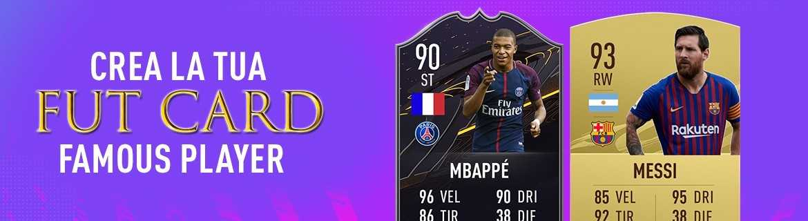 FUT Card Famous Player