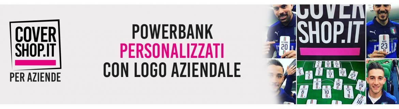 PowerBank Aziendali con Logo