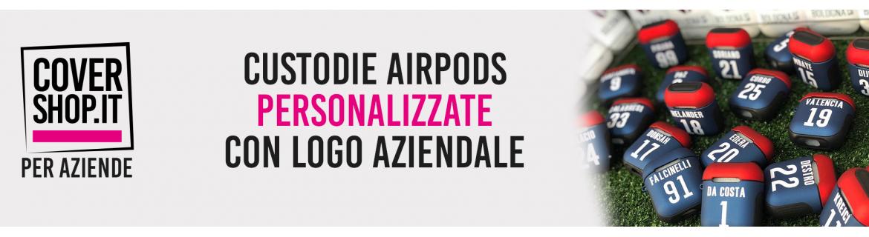 Custodie Airpods Aziendali con Logo